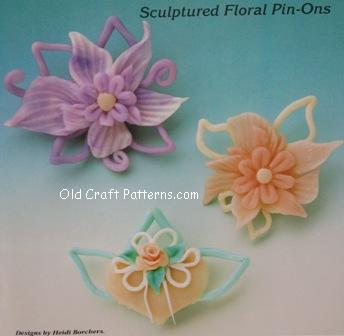 flowers pin-ons