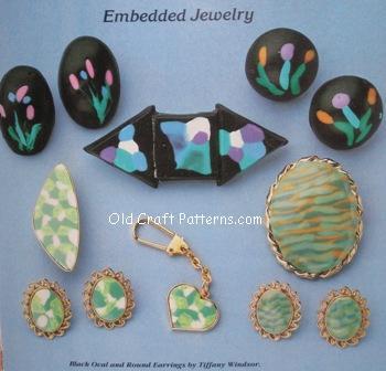 embedded jewellry