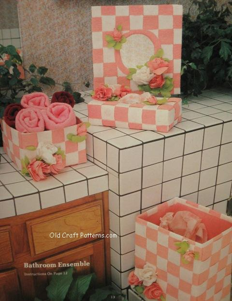 bathroom ensemble
