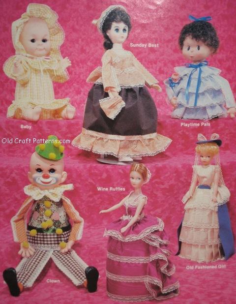 ribbon dolls
