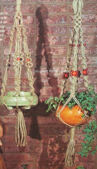 plant hangers patterns