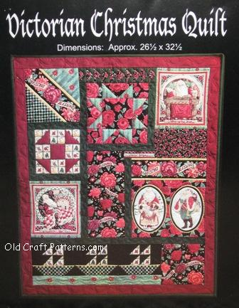 Antique Amish Quilt Pattern With Quilting Templates