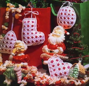 Better homes and gardens 1992 christmas special ornaments Better homes and gardens christmas special