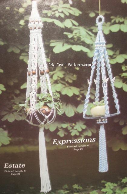macrame hangers