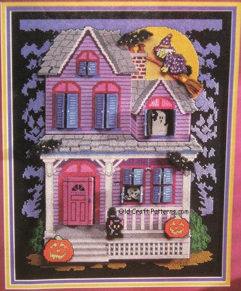 haunted house pattern