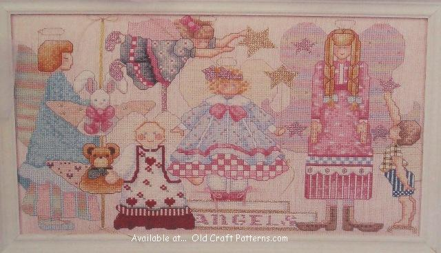 angel stitchery patterns