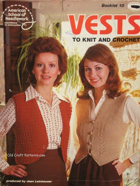 vests patterns