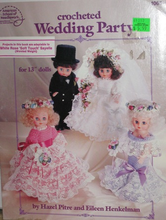 crochet wedding doll patterns