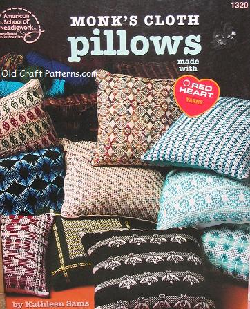 monks cloth pillow patterns
