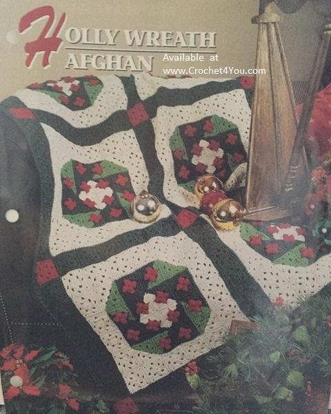 wreath afghan pattern