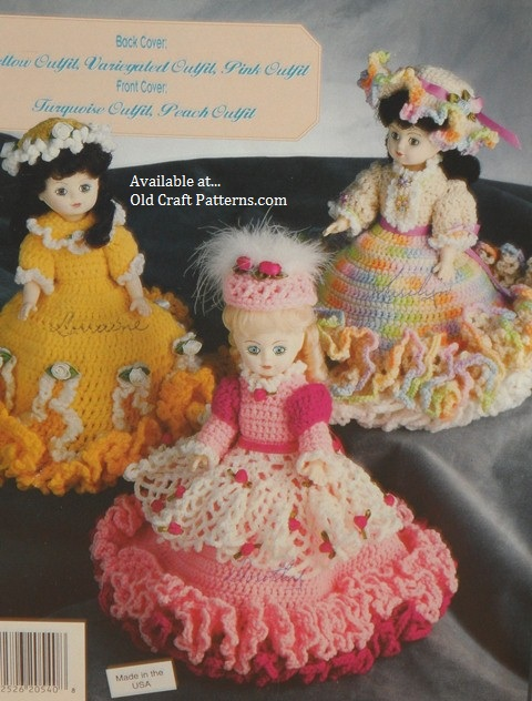 free crochet barbie doll dress patterns