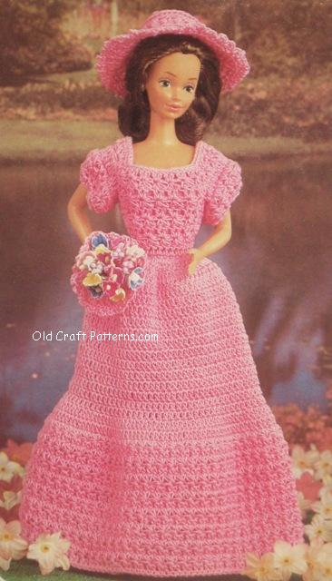 crochet doll outfit
