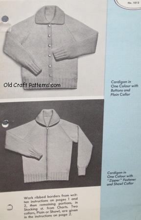 plain style cardigans