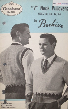mens knitting patterns