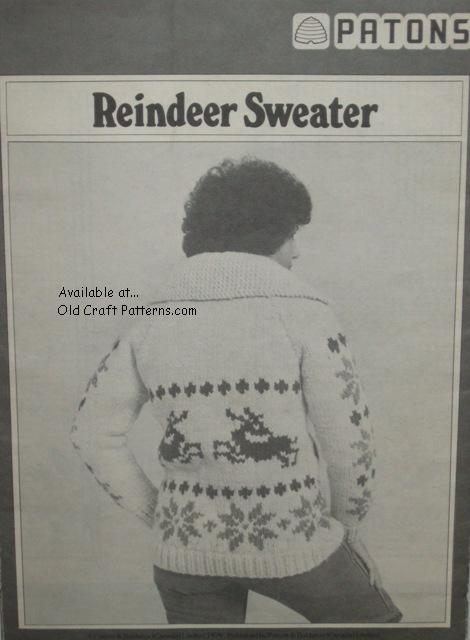 reindeer pattern