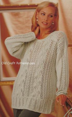 ladies pullover pattern
