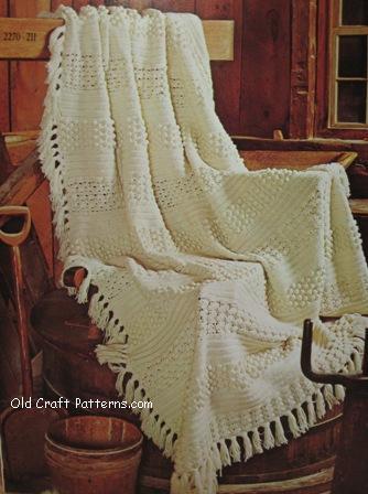 crochet aran pattern