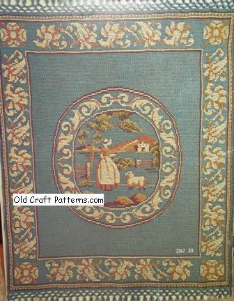 afghan pattern