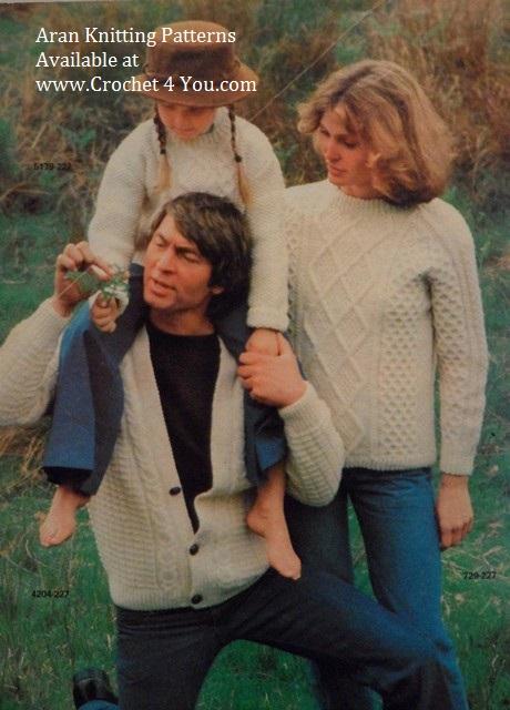 family aran sweaters