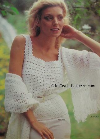 crochet camisole pattern