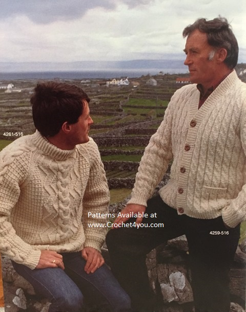 irish aran patterns