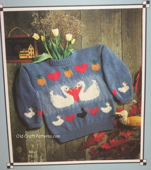swan song sweater pattern