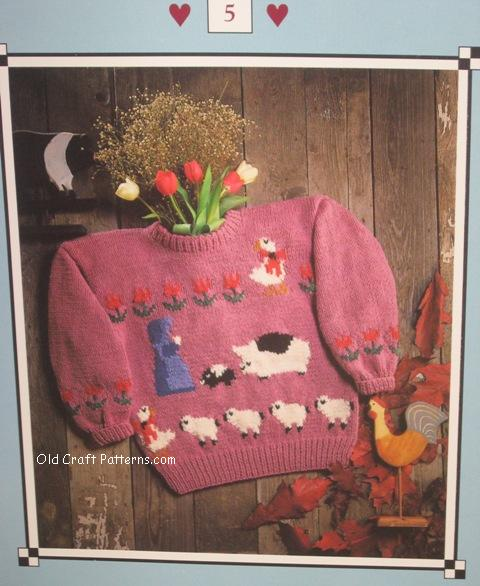 feeding time sweater pattern