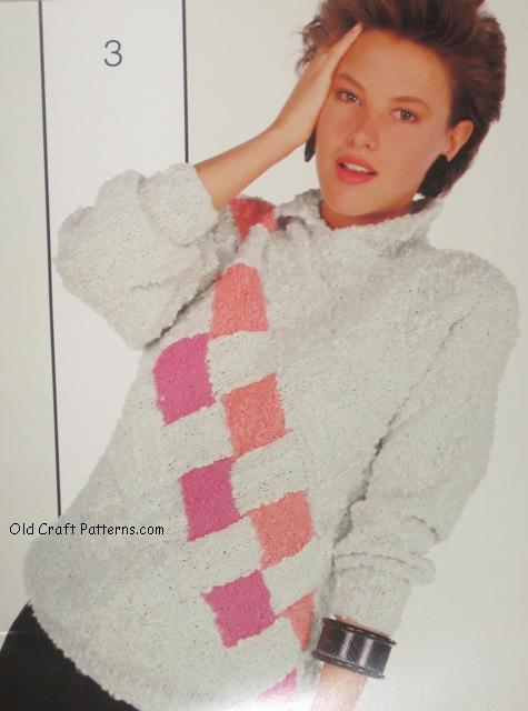 designer sweater pattern