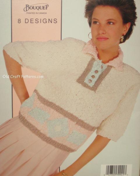 collar sweater pattern