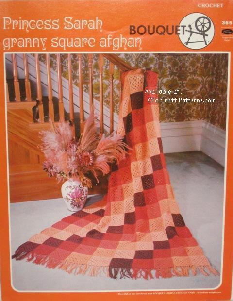 Granny Squares Afghan