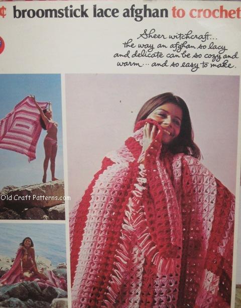 broomstick crochet afghan