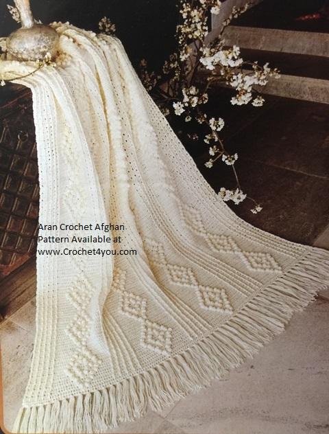 aran crochet pattern