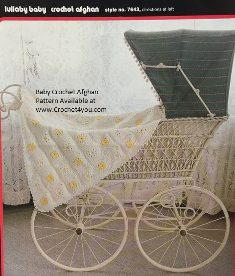 baby carriage blanket pattern