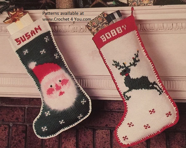 knitted stocking patterns