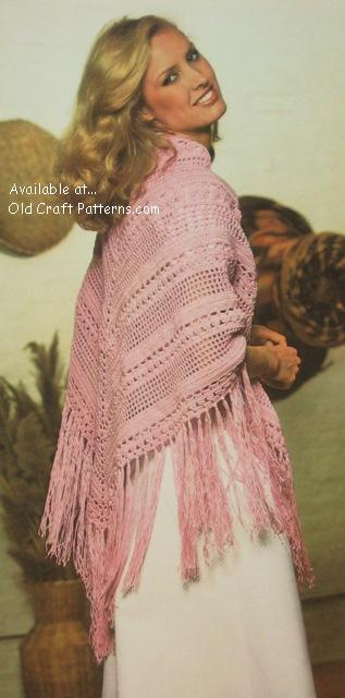 crocheted shawl pattern