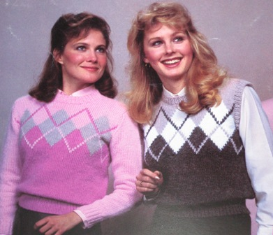 argyle knitting