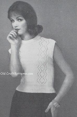 knit shell pattern