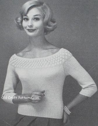 popcorn pullover