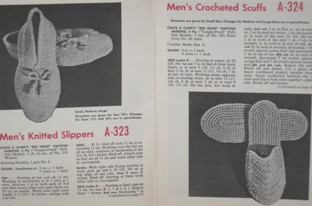 slipper patterns