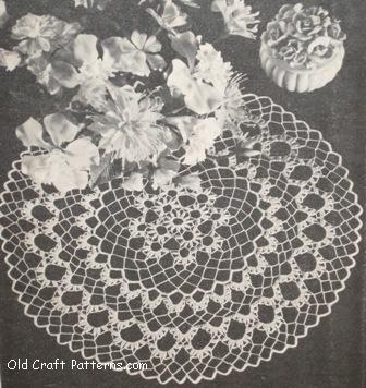 chrysanthemum doily