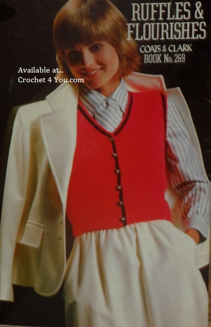 ladies knit vest