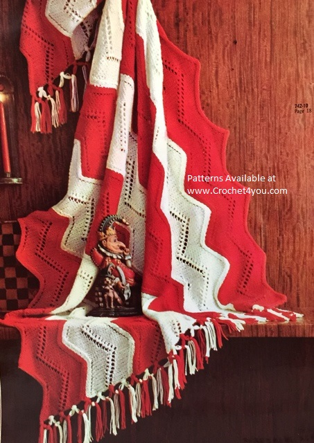 patchwork crochet afghan