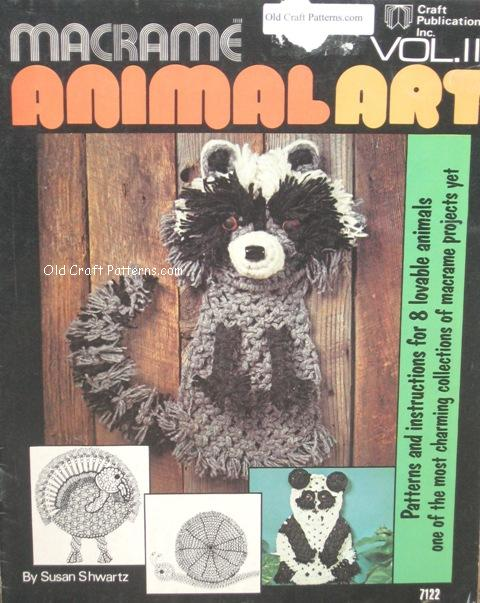 animal macrame patterns