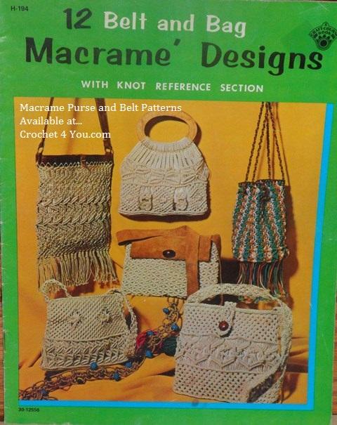 macrame purses