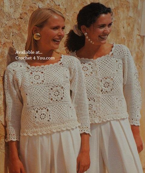 mans crochet pattern