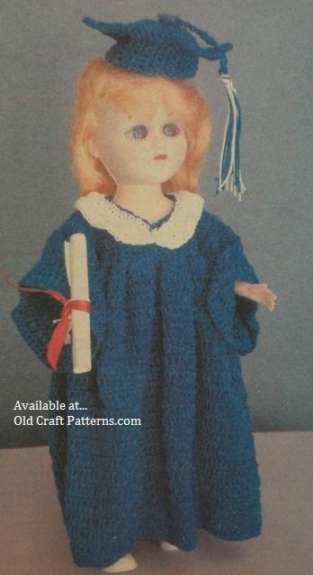 graduation doll