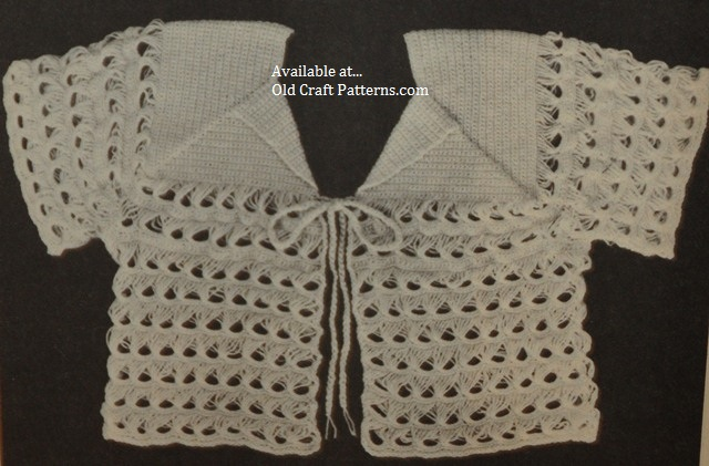 broomstick lace sweater