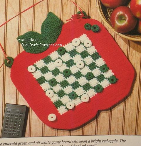 crochet checkerboard