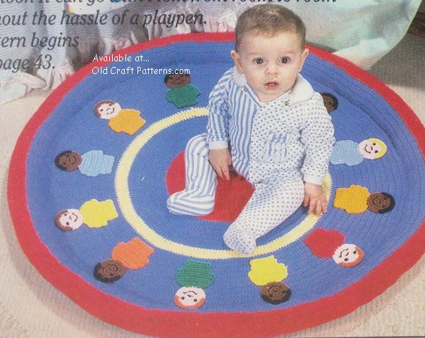 baby play mat pattern
