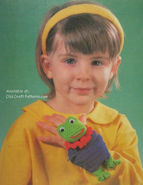 frog purse pattern